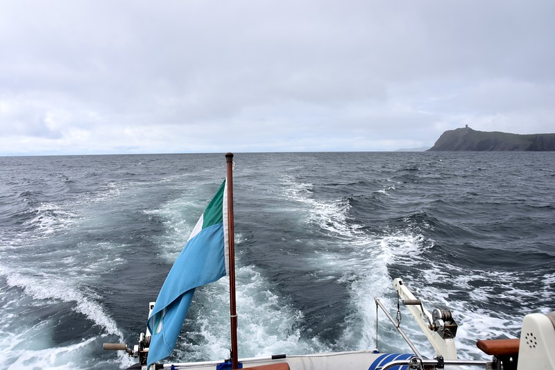 Looking astern, down Bantry Bay.