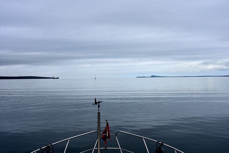 circa 11:30...what a calm sea state. Carrigaholt ahead on right of picture.