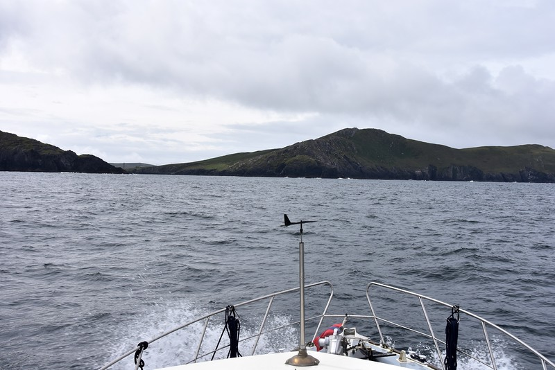 11:40...making the approach to the entrance to Dursey Sound.