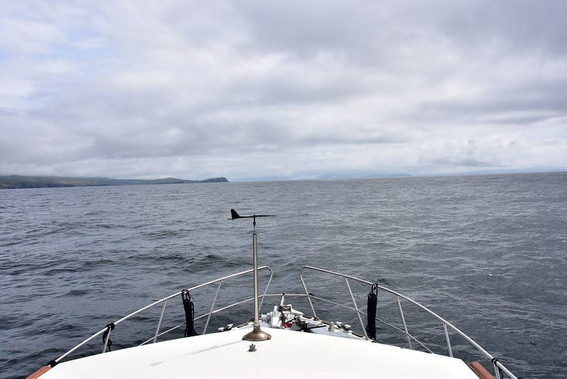 12:08... Arthur heading up Bantry Bay