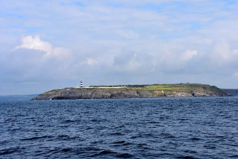 09:30...Looking astern at the Old Head of Kinsale.