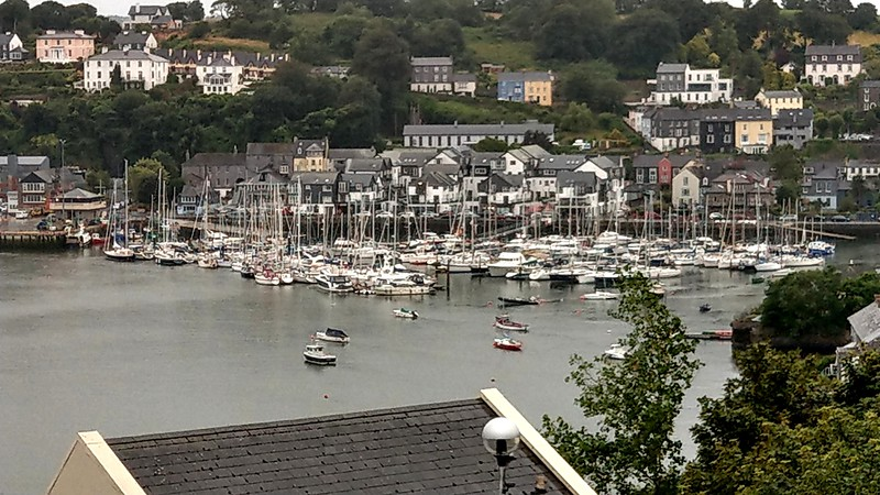 "Photo of Kinsale Yacht Club Marina taken with HTCU11 from Serena's car as we made our way back to Kinsale. ""Arthur"" is almost dead centre in the photo above...<br /> <br /> Photo taken with HTC U11."