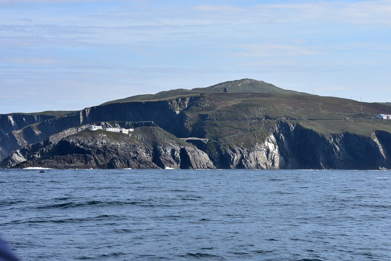 Mizen Head. Footbridge just coming into view...