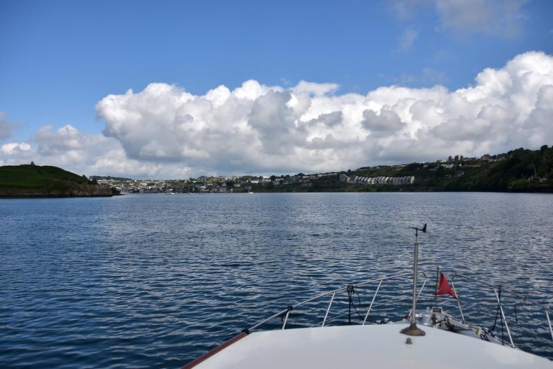 10:26...Kinsale Harbour.