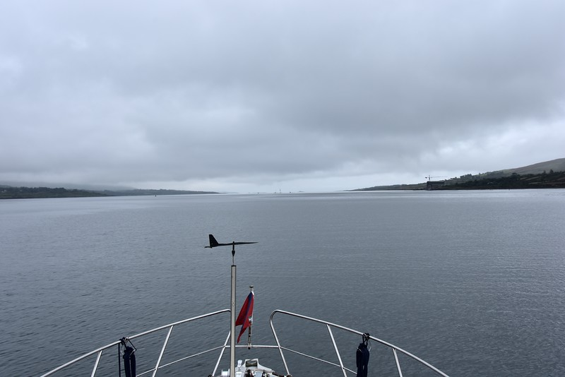 14:09... On Berehaven. Roancarrig Lighthouse in distance, directly in centre of photo.