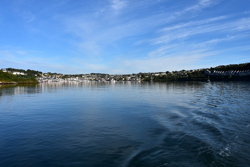 07:57...Leaving Kinsale in our wake.