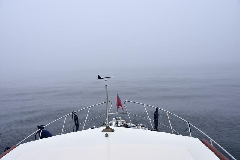12:48...Visibility still almost non-existent!