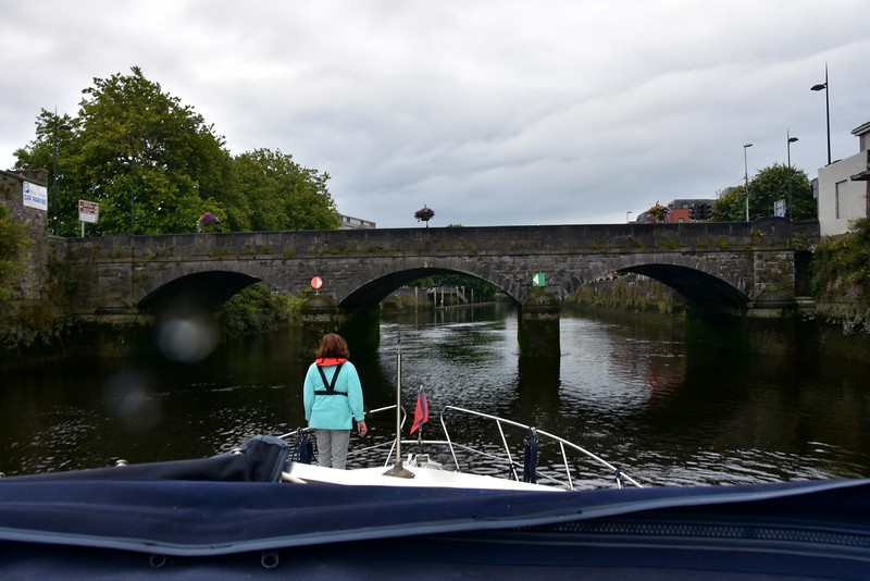 "08:40…""Arthur"" about to do the Limerick Bridge Run!"