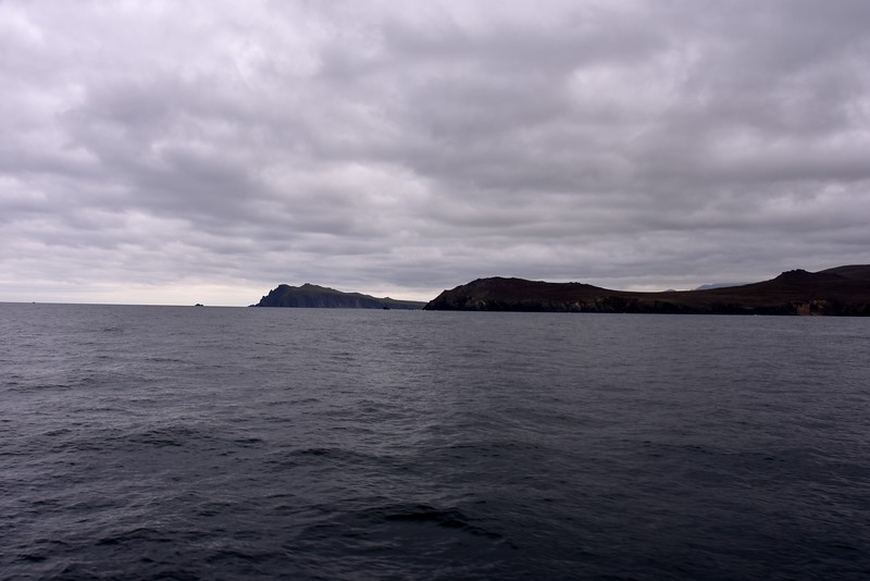 07:50...Exiting the Blasket Sound. We're making good progress. It's just 95 mins since we departed Dingle.