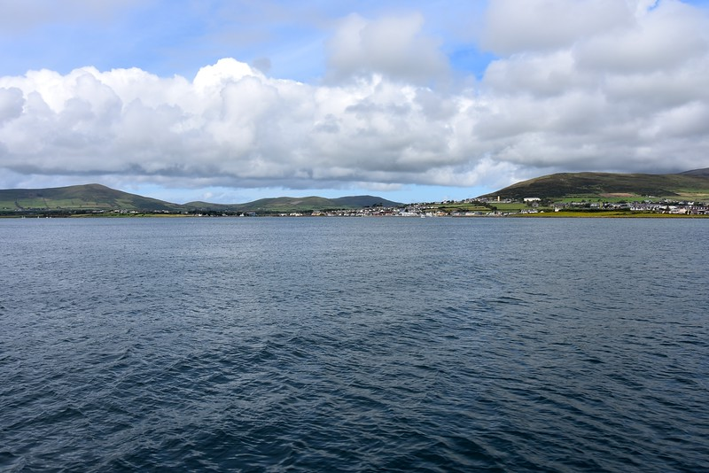 13:22...Dingle Harbour and Dingle Marina ahead. Passage time was  approximately seven hours. Using Dursey Sound rather than going around Dursey Head does seem to reduce overall passage time.