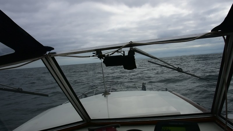 SIX video clips follow as we round Kerry Head and make our way up the Shannon Estuary. Some feature commentary.