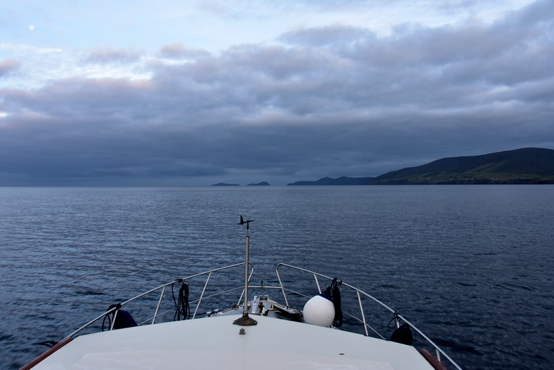 06:47...Approaching the Blasket Sound.