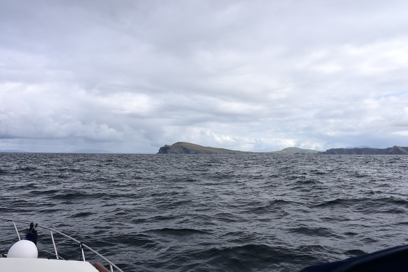 10:49...Bray Head and Valentia Island ahead.