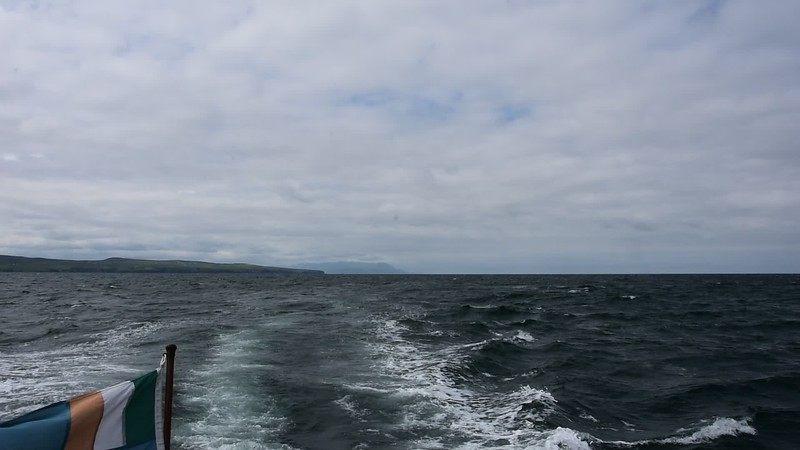 SIX more video clips which show the sea state as we make our way up the Shannon Estuary. Again, some with commentary.