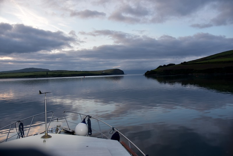 06:15...The mouth of Dingle Harbour leading onto Dingle Bay. Always love this scene.