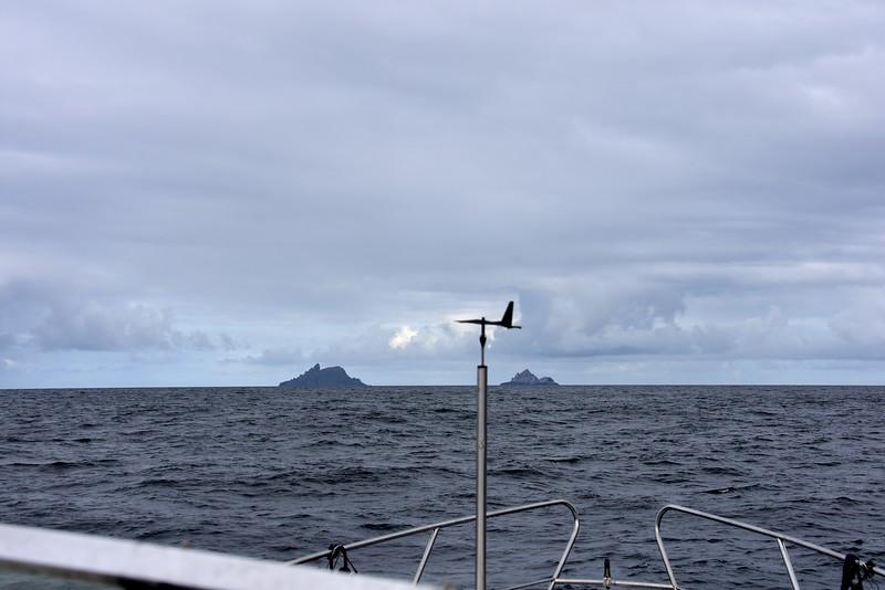 09:58...Skellig Islands.
