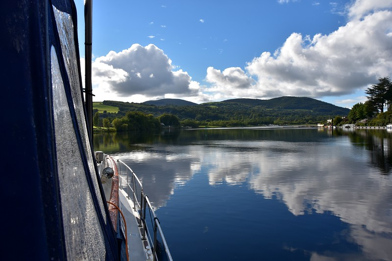 18:30… Looking up river from our berth at Killaloe.