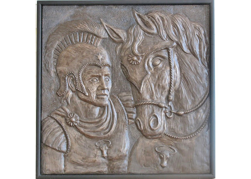 Bucephalus was named for his ox-head brand.