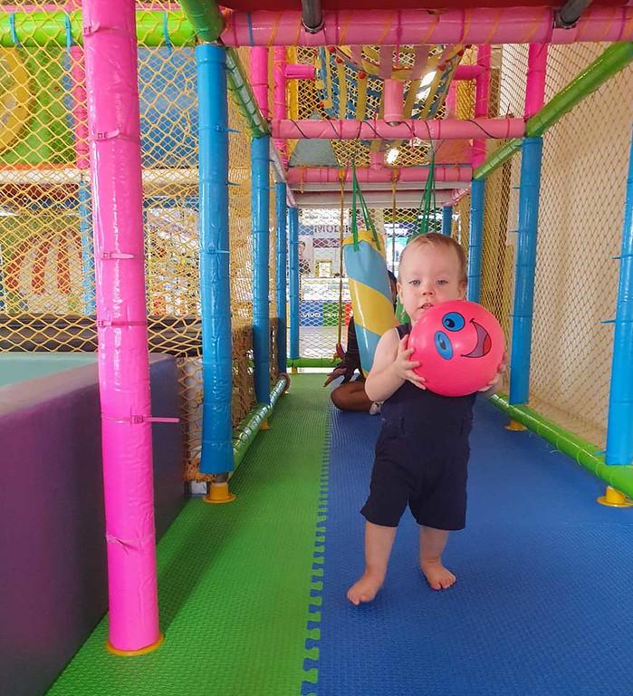 Play area at Big C