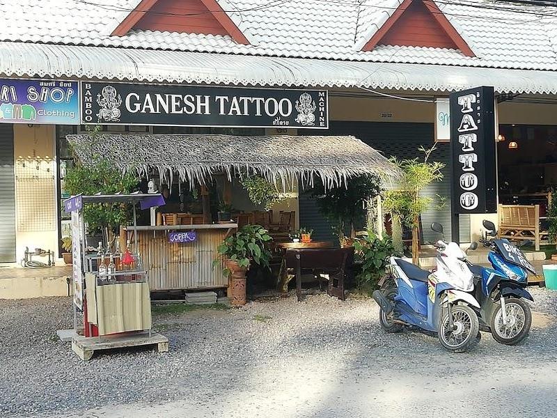 Ganesh Tattoo Koh Phangan