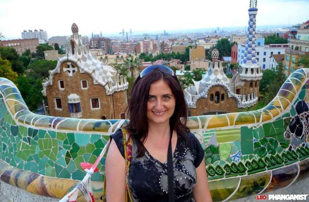 Kristen in Barcelona