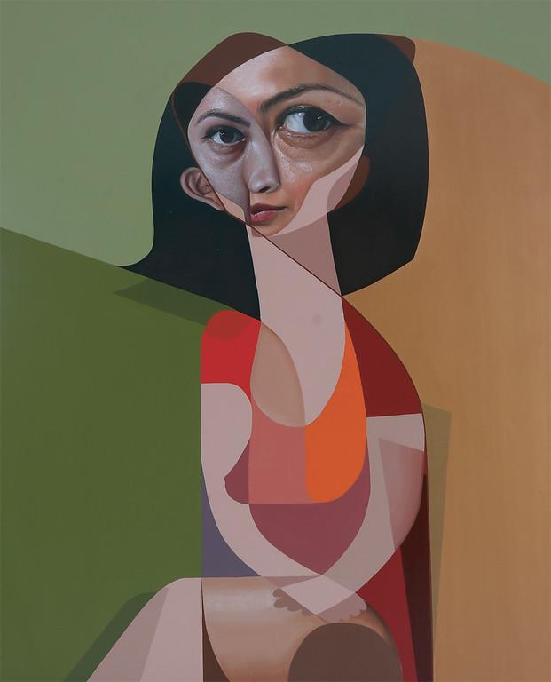 Mujer De Rojo - Belin