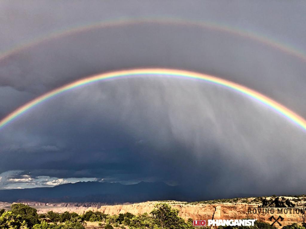 Double Rainbow Utah