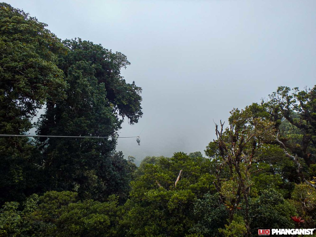 Costa Rica - Zip-lining into the clouds in Monteverde