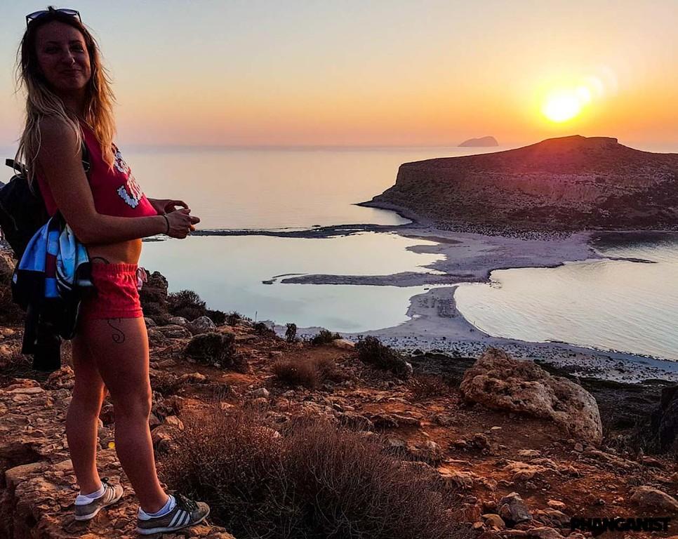 Balos lagoon Crete Island