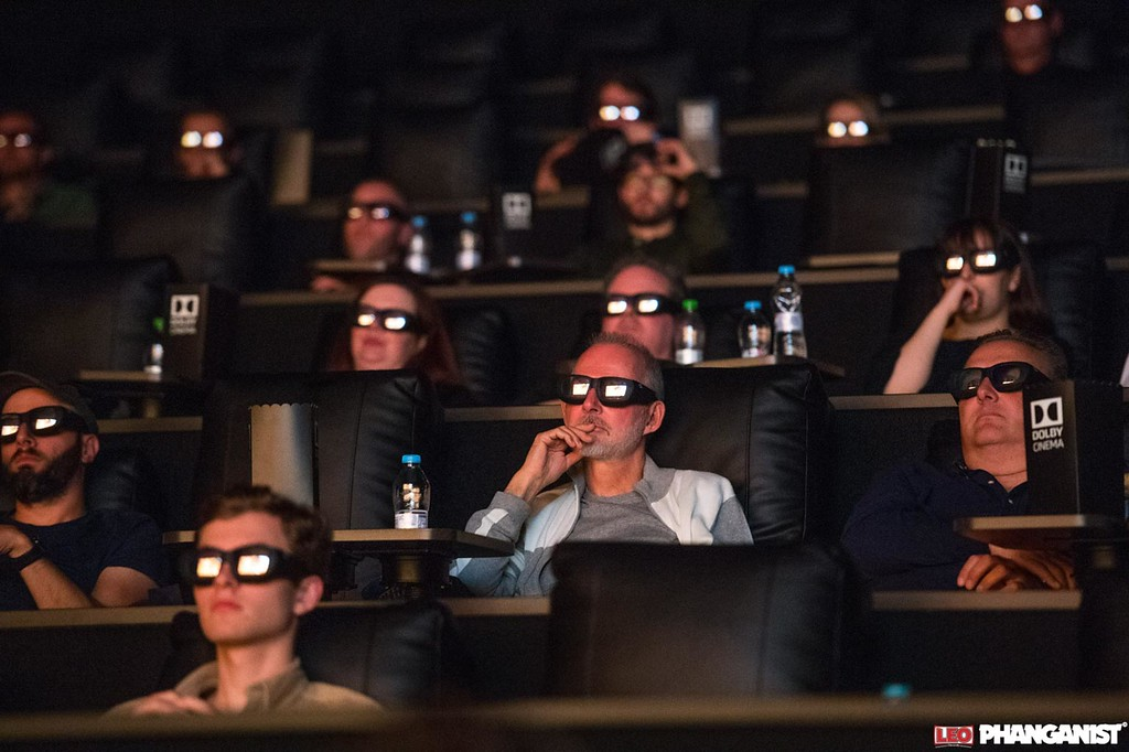 Steve at Dolby Cinema opening Manchester UK