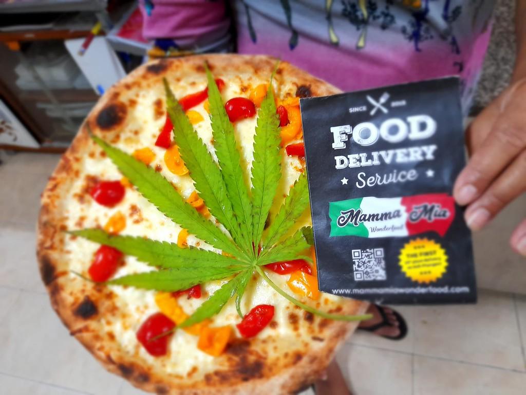 Mamma Mia Cannabis Pizza