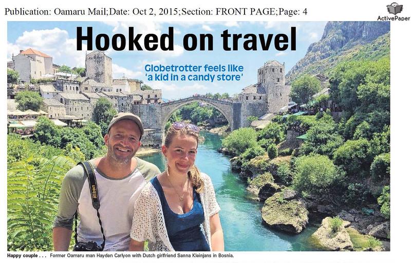 Oamaru Mail Interview Hayden Carlyon
