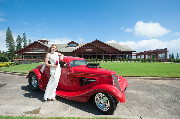Cover Shoot for The Time Group at Taverna Maui
