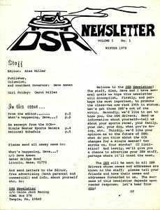 Vol 1 No 1, Winter 1978
