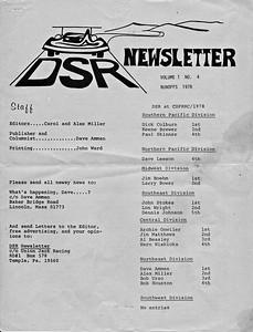 Vol 1 No 4, Runoffs 1978