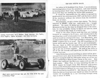 1959 June, The Martin Tanner Report