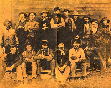 There is a photograph of my grandfather on my Dad's side.  He's part of a group of local Vulcan men and they are all wearing cowboy hats and long handlebar moustaches.  You can tell from the photo that these are hard-working men.