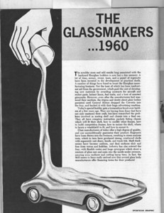 """May-June 1960, """"The Glassmakers ... 1960"""""""