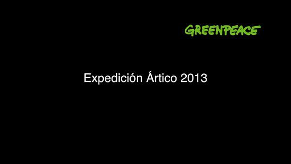 Expedición de Greenpeace en el Ártico