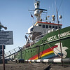 MY Arctic Sunrise Prepares to Depart from Murmansk