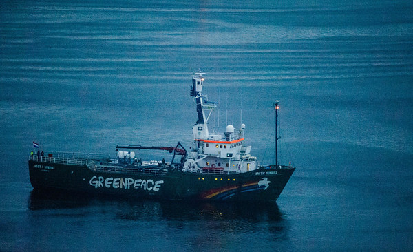 MY Arctic Sunrise Departs from Murmansk