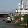 Arctic Sunrise Sails To Amsterdam