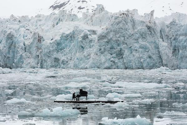 El pianista Ludovico Einaudi lleva tu voz al Ártico