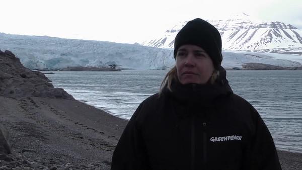 Declaraciones de Pilar Marcos, responsable de la campaña de Greenpeace
