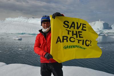 Primera expedición al Ártico, Alejandro Sanz