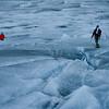 """La expedición """"Salva el Artico"""" alcanza el casquete polar"""