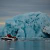Tercer día de la expedicion al Artico, en camiseta de manga corta