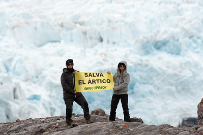 Melepe con el Ártico