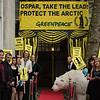 Recibimiento cinematográfico para los delegados de Ospar en Londres
