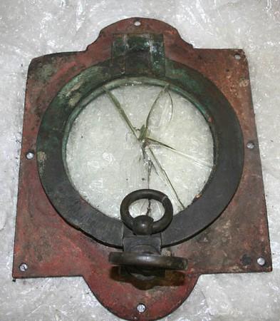 Porthole from Royal Savage